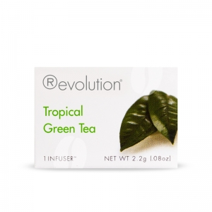 Revolution Tea Green and White Celebration