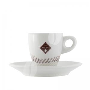 Milani Espresso kop en schotel