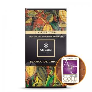Amedei Dark Chocolate Bar 70% Blanco de Criollo
