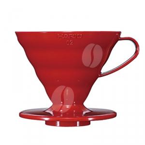 Hario V60 Coffee Dripper 02 Acryl Red
