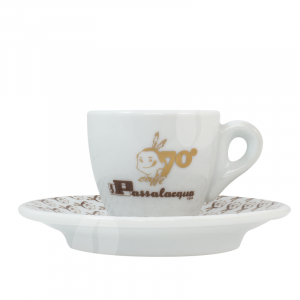Passalacqua 70 jaar Espresso kop en schotel
