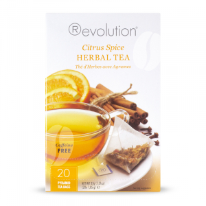 Revolution Tea Citrus Spice Herbal Caffeine Free