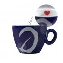 La Brasiliana Espresso kop en schotel - edizione limitata love