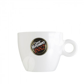 Vergnano Cappuccino kop en schotel