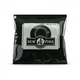 New York Espresso ESE Serving