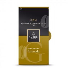 Amedei Dark Chocolate Bar 70% Cru - Grenada