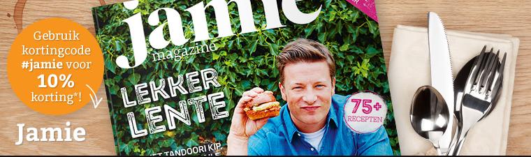 voor jamie magazine lezers korting bij koffiecentrale