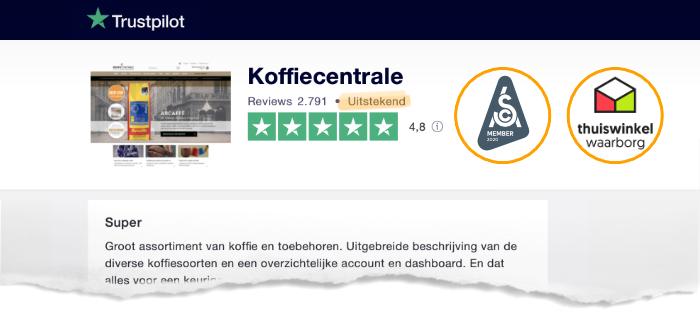 Trustpilot reviews klanten