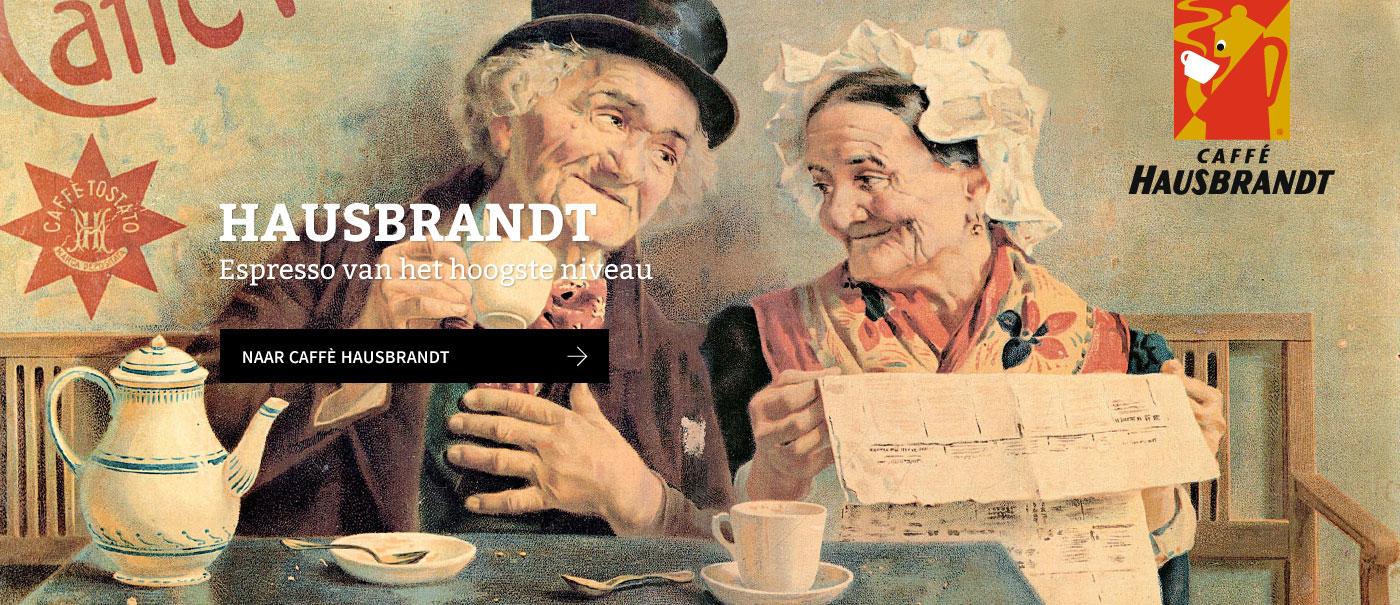 Harsbrandt, één van de deftigste koffiemerken van Italië