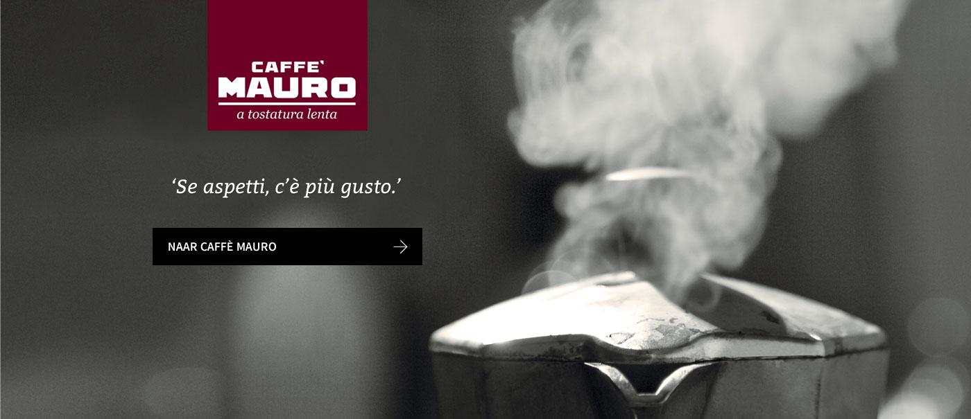 Klik hier voor de producten van caffe mauro