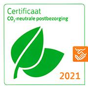 Groene Post Certificaat van PostNL